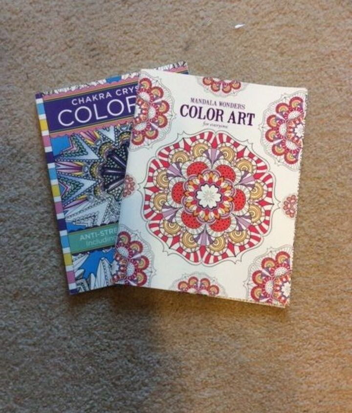 Adult Coloring Book Turned Beautiful Plate!