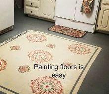 diy painting floors easy and rewarding, diy, flooring, painting