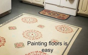 diy painting floors easy and rewarding, diy, flooring, painting