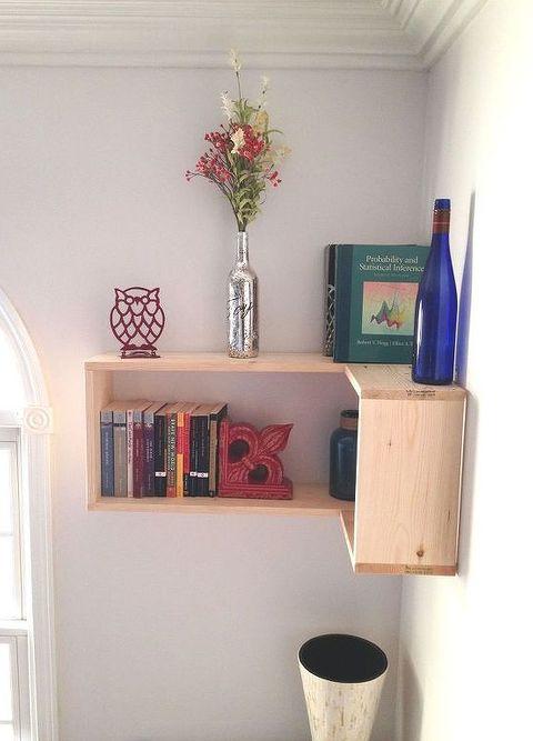 Image of: Office Corner Shelf Inside Office Shelving Unit Wall Shelves Corner Inspiring Units Design