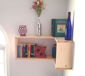 Office Shelving Ideas Part - 26: The Turning Point Diy Corner Shelves, Diy, Home Office, Shelving Ideas,  Woodworking
