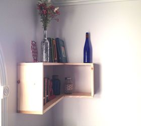 The Turning Point Diy Corner Shelves, Diy, Home Office, Shelving Ideas,  Woodworking