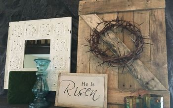 DIY Easter Mantle / Barn Door Tutorial / Decoration Ideas