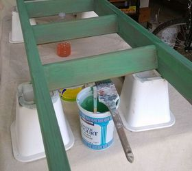 giving an old bunk bed ladder new life repurposing upcycling shelving ideas
