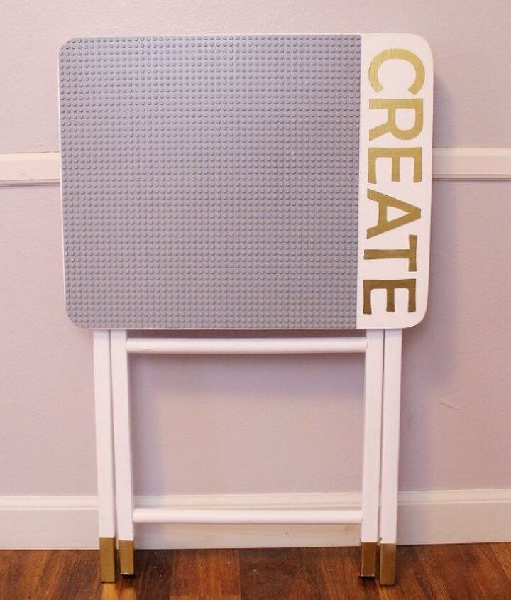 portable diy lego table, entertainment rec rooms, how to, painted furniture, repurposing upcycling