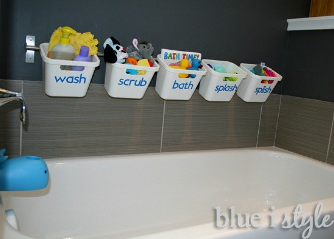 Reusable Toilet Paper Storage
