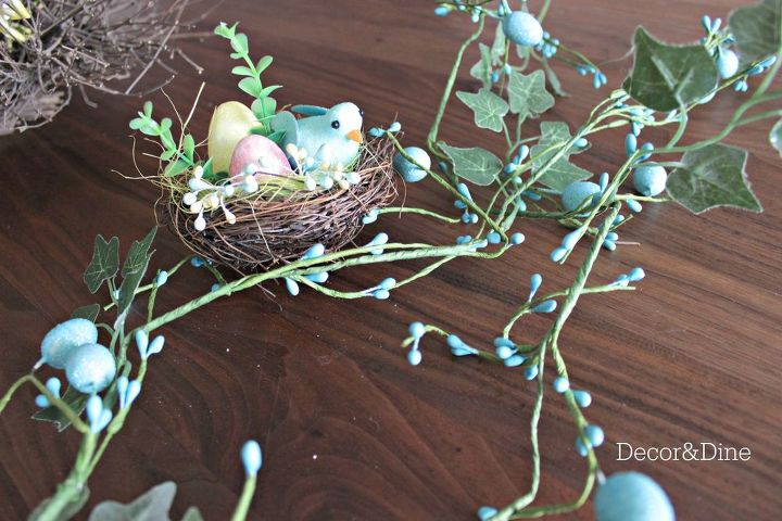 easter spring wreath, crafts, easter decorations, seasonal holiday decor, wreaths
