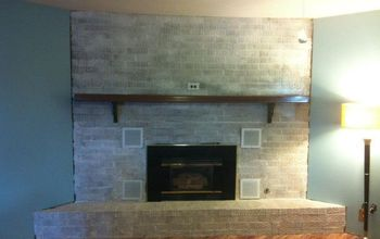 The 2 Hour and $20 Fireplace Makeover