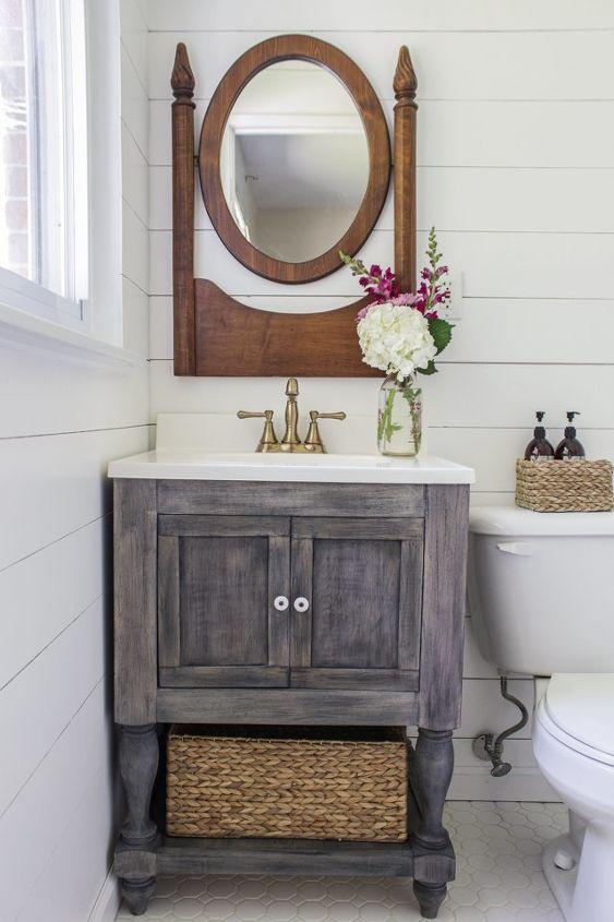 Small Master Bathroom Makeover on a Budget | Hometalk