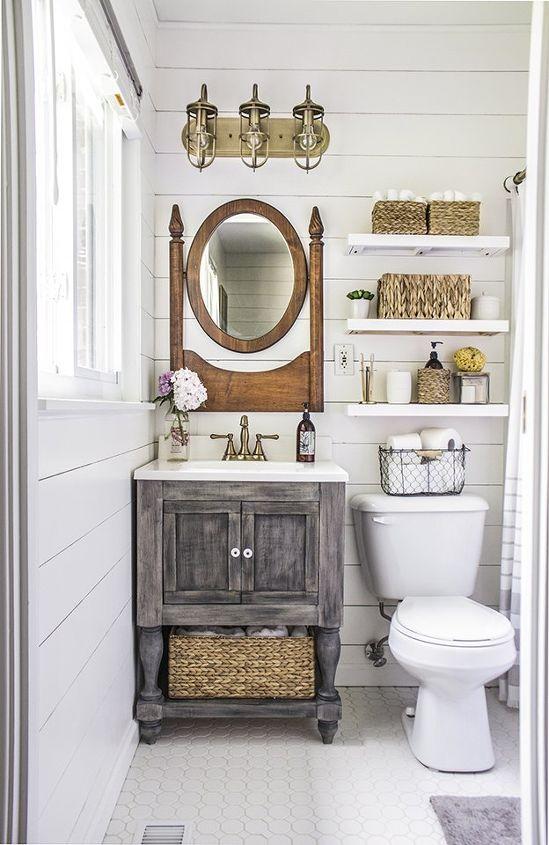 Small Master Bathroom Budget Makeover Ideas Diy Home Improvement
