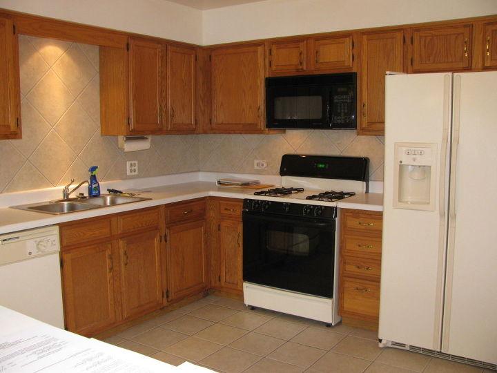 Best Way To Spruce Up Finish On Medium Oak Kitchen Cabinets Hometalk Adorable Spruce Up Kitchen Cabinets