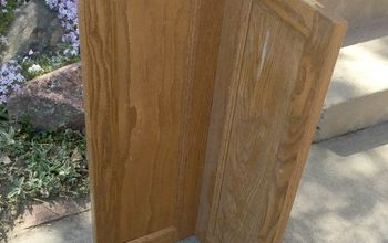 corner cabinet planter, container gardening, diy, gardening, kitchen cabinets, repurposing upcycling, woodworking projects