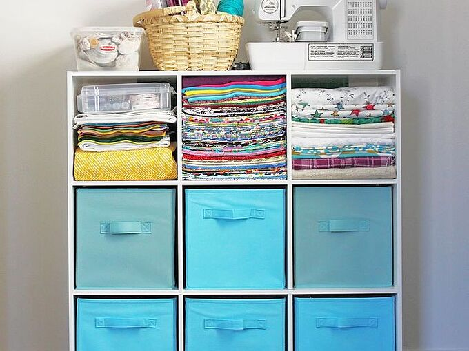 how to organize your craft supplies in a small space, craft rooms, how to, organizing, storage ideas