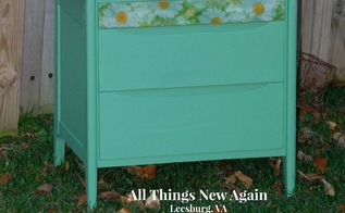 how to paint wood to look old and weathered, decoupage, painted furniture, woodworking projects