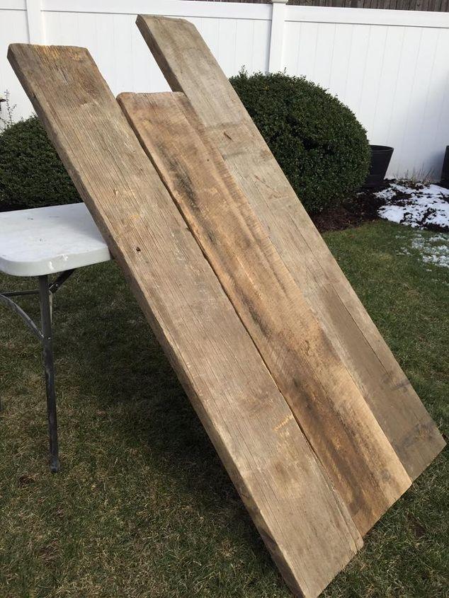 Building A Reclaimed Barn Wood Farm Table From Scratch Hometalk - Building a farm table