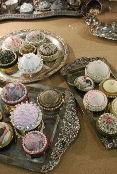 mason jar lid pincushion project, crafts, how to, mason jars, repurposing upcycling