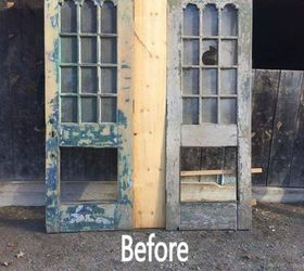 REPURPOSED DOORS INTO A KING SIZE HEADOARD & REPURPOSED DOORS INTO A KING SIZE HEADOARD | Hometalk