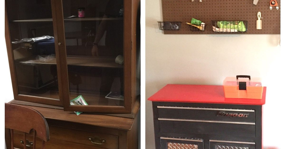Tool Chest Dresser Repurposed Hutch Bottom Hometalk