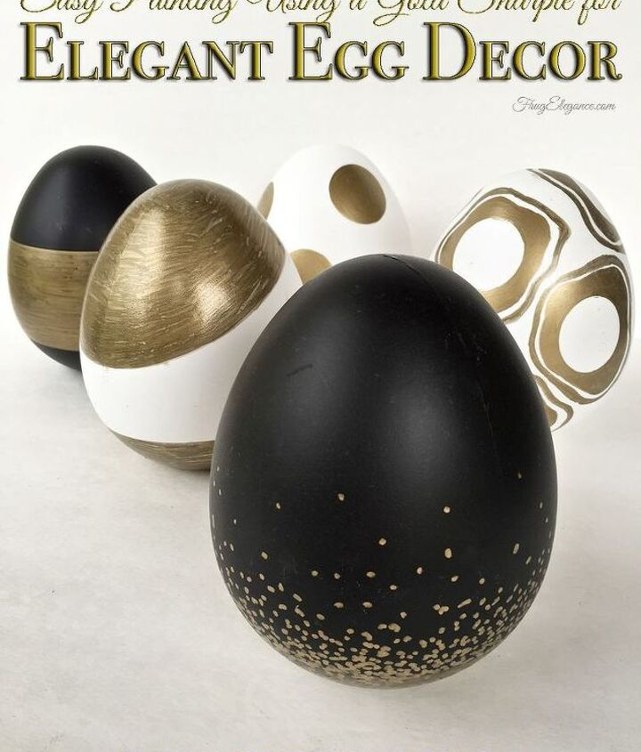 elegant egg spring decor, crafts, easter decorations, seasonal holiday decor