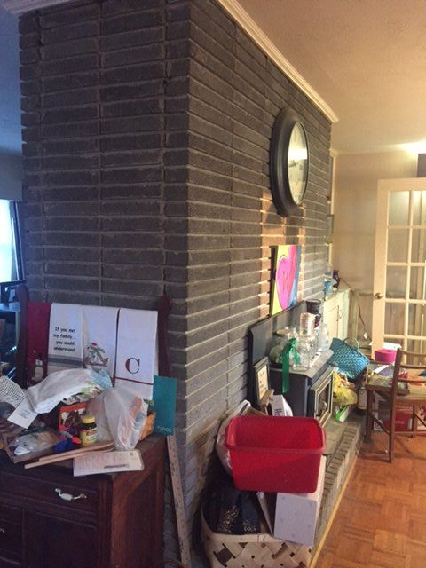 q need help with huge ugly fireplace, fireplaces mantels, home decor, home decor dilemma