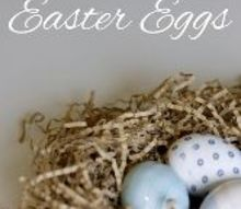 make gorgeous silk tie dyed easter eggs, crafts, easter decorations, how to, seasonal holiday decor