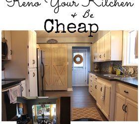 Farmhouse Kitchen Reno For Cheap, Diy, Home Improvement, Home Maintenance  Repairs, Kitchen