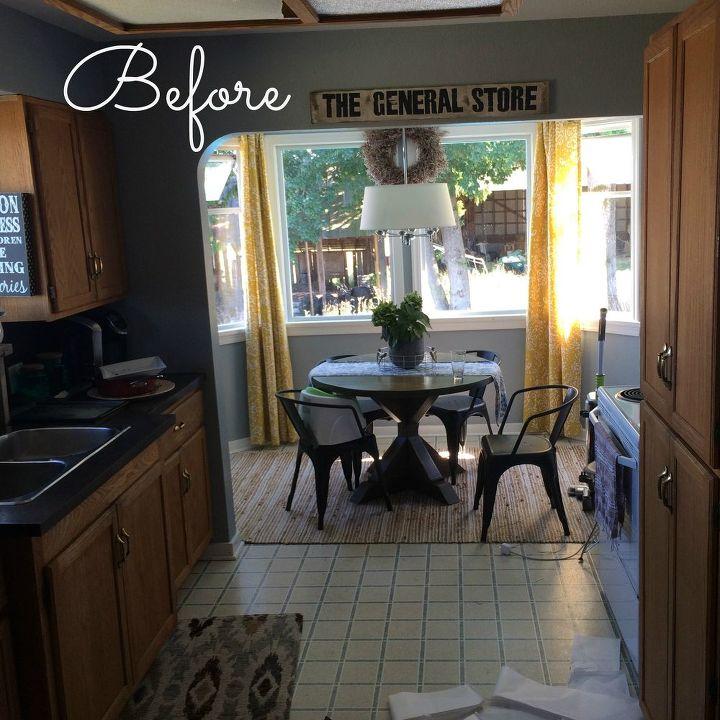 Cheap Kitchen Remodel Diy: Farmhouse Kitchen Reno For CHEAP