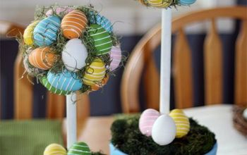 Easter Egg Topiary Perfect to Display Year After Year