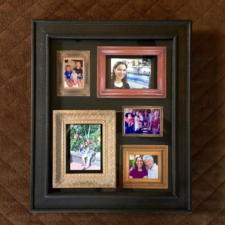 harry potter inspired picture frame crafts repurposing upcycling wall decor - Moving Picture Frames