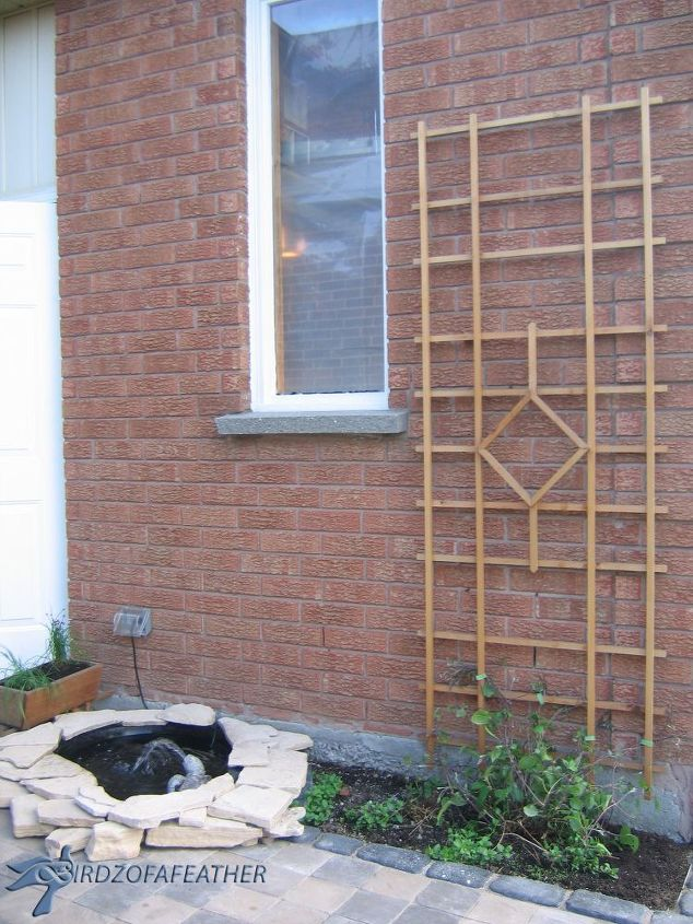 spring forward build a trellis and privacy screen, diy, gardening, outdoor furniture, outdoor living, woodworking projects