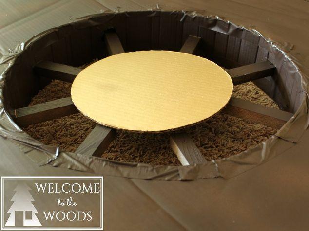 Cardboard Ship Wheel & Fake Portholes | Hometalk