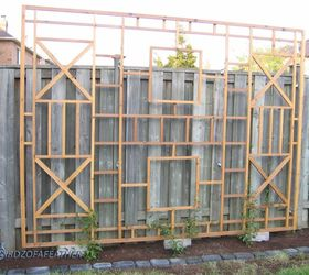 Trellis Ideas For Privacy Part - 46: Build An Intricate Frame For A Flowering Vine