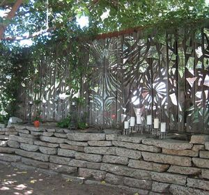 s 15 privacy fences that will turn your yard into a secluded oasis, curb appeal, fences