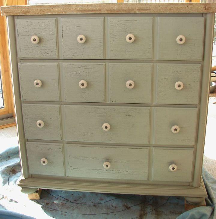 Dark Brown Chalk Paint Kitchen Cabinets: Chalk Paint, Dark Wax Cabinet Transformation