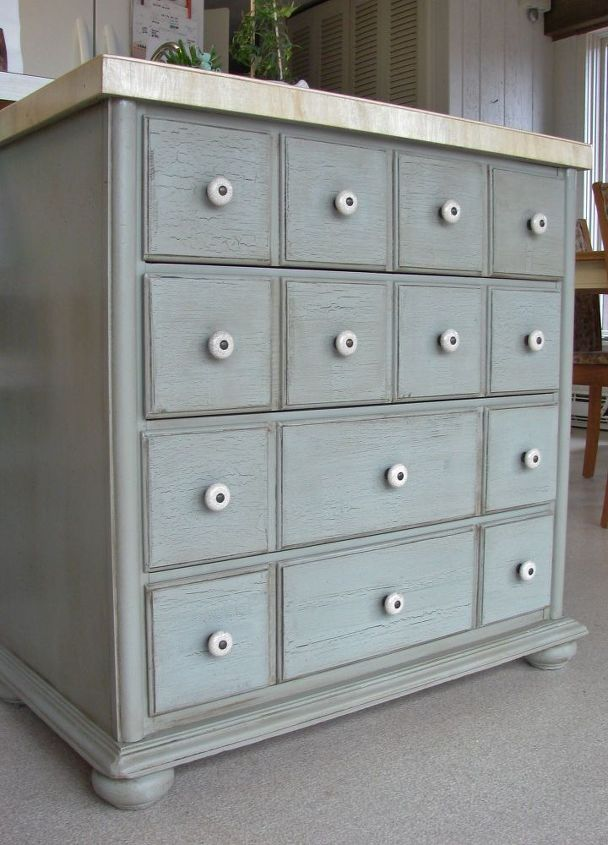Chalk Paint, Dark Wax Cabinet Transformation | Hometalk