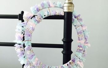 Shabby Chic Spring Wreath