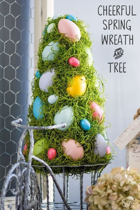 s these are the hottest diy spring trends of 2016, crafts, seasonal holiday decor, Faux trees inside aren t just for Christmas