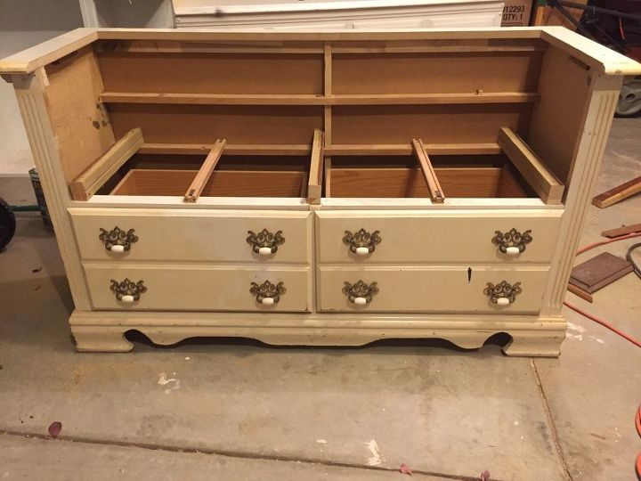 Peachy Repurposed Dresser To Bench Hometalk Caraccident5 Cool Chair Designs And Ideas Caraccident5Info