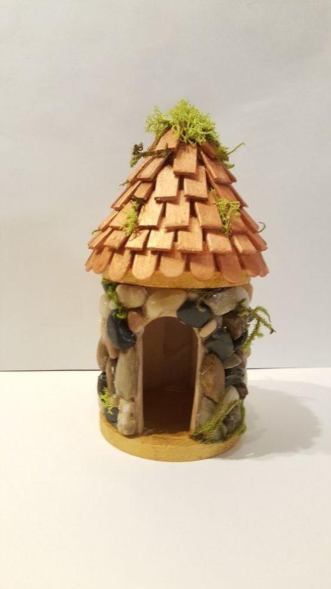 fairy house, crafts, gardening