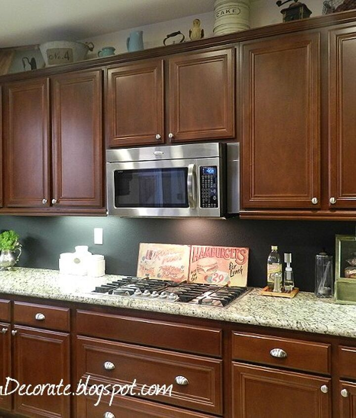 s 13 incredible kitchen backsplash ideas that aren t tile, kitchen backsplash, kitchen design, Paint on a chalkboard layer