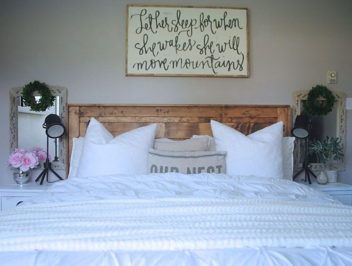 Farmhouse Bedroom Upgrade Part One Ideas Rustic Furniture