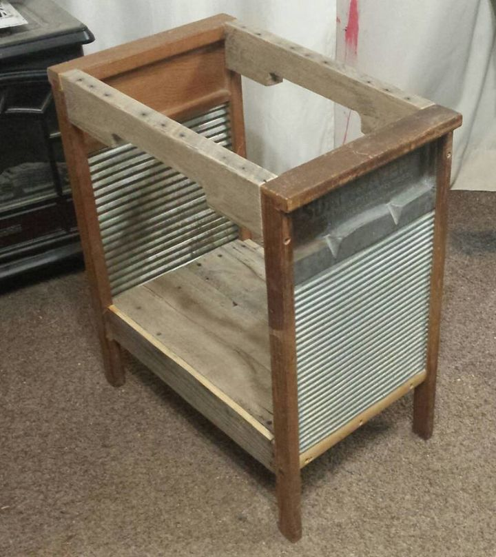 giving old washboards a new purpose, diy, gardening, outdoor furniture, outdoor living, pallet, repurposing upcycling