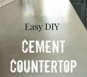 Diy Concrete Countertop Overlay, Concrete Masonry, Countertops, Kitchen  Backsplash