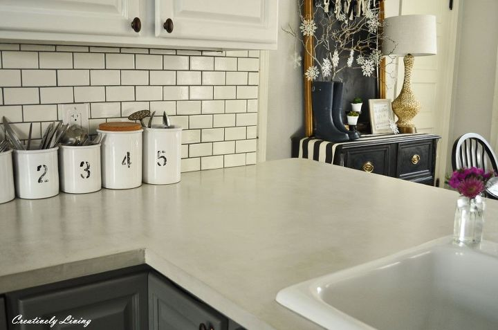 Diy Concrete Countertop Overlay Hometalk