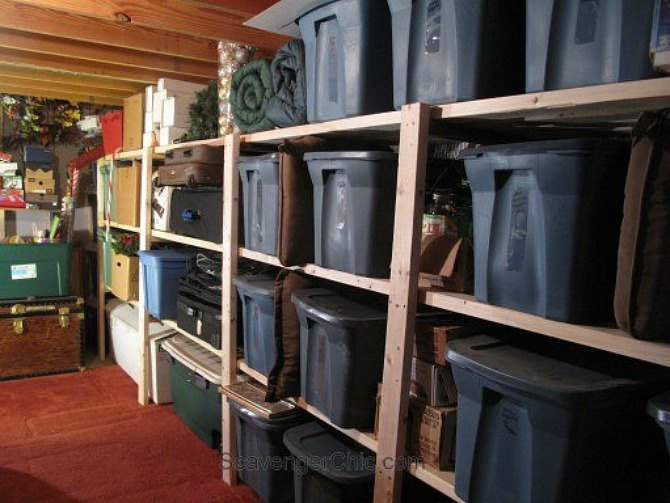 s 12 clever garage storage ideas from highly organized people, garages, organizing, storage ideas, Buy sturdy plastic storage bins