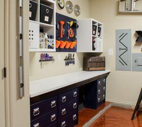 Organize The Garage Ideas Part - 27: Hang Shelves U0026 Add Baskets For Small Items