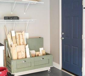Simple Garage Organization Ideas Part - 38: Make A Designated Spot For Scrap Wood