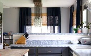 diy faux granit countertops, countertops, diy, kitchen design