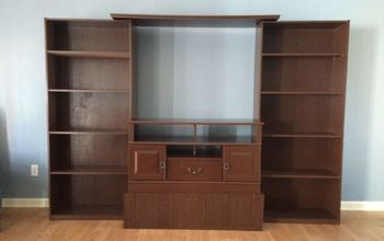 entertainment center, diy, entertainment rec rooms, painted furniture, repurposing upcycling, woodworking projects