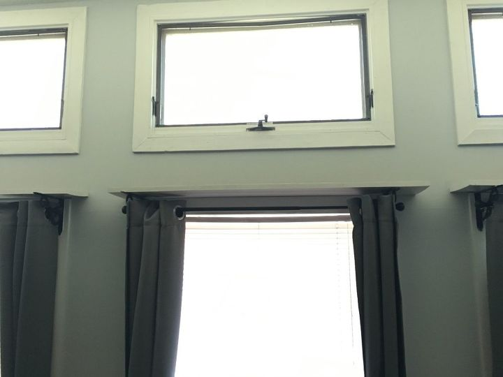 q suggestions for above the window shelves, home decor, home decor dilemma